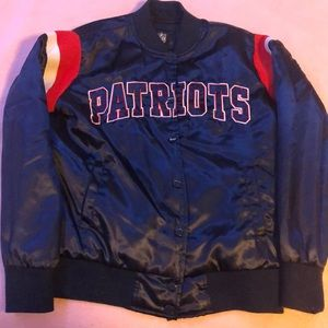 New England patriots NFL bomber jacket